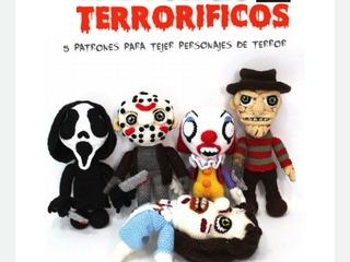 Libro Patrones Amigurumi De TerrorJason Freddy Morgan Penny