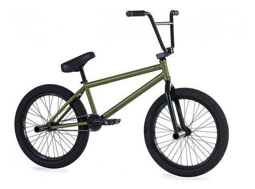 Bicicleta Fiend Bmx Type B ¡verde Militar! Linea Pro Cromo