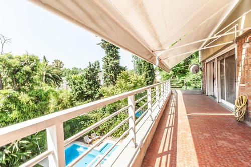 Venta Dto Penthouse 5 Amb, Balcón Terraza, Cochera, Jardines. Permuta Zona Cercana. Belgrano