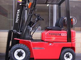Autoelevador Toyota 1tn Glp, Exelente Garantia