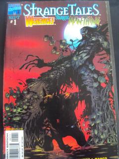 Strange Tales # 01 E 02 - Man-thing & Werewolf - Importada