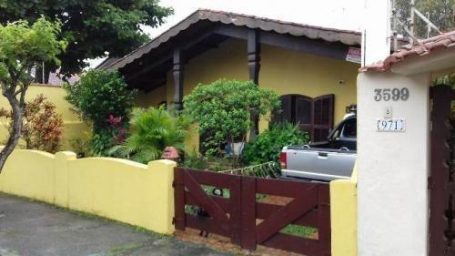 Imagem 1 de 14 de Ótima Casa N Litoral Com 3 Quartos Em Itanhaém/sp 2165-pc