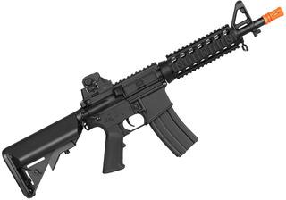 Rifle Elétrico Airsoft Bivolt Cybergun Colt M4 Cqb Baxs 6mm