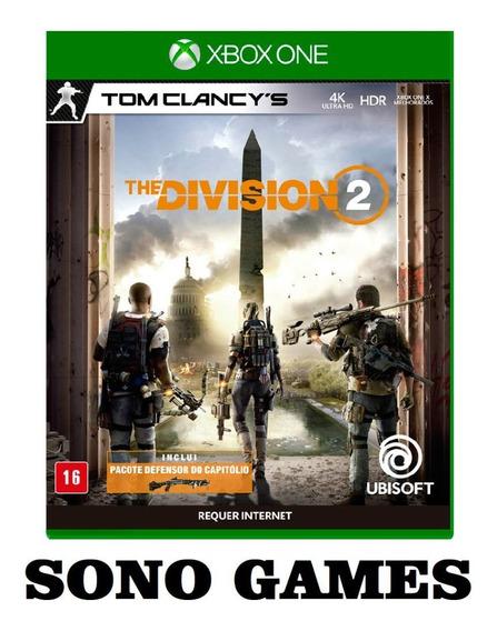 Tom Clancy The Division 2 Xbox One - Mídia Digital + Brinde