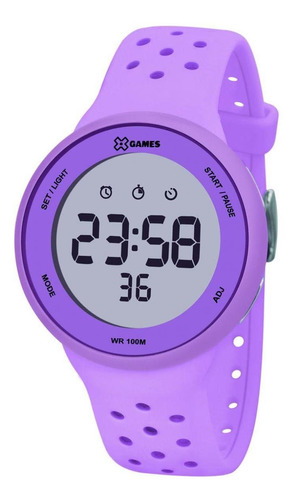 Relógio X-games Xfppd076 Lxlx Feminino Lilás