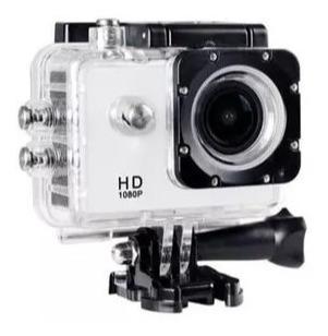Câmera Filmadora De Ação Onn 12mp Full Hd Tela 1.5 Branca