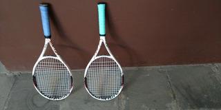 Par De Raquetes De Tenis Tecnifibre Tgv Speed