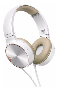 Audifonos Pioneer Blancos Se-mj722t-t