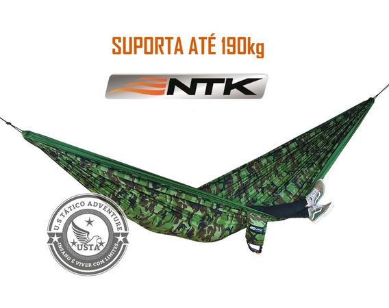 Rede Descanso King Size 190 Kg Kok Camuflada Nautika Camping