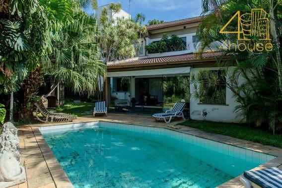 Alto De Pinheiros - Linda Casa Com Piscina 456m² 04 Dorms (3 Suítes) 04 Vagas Na Rua Engenheiro Sá Rocha Para Venda. - Ca0357