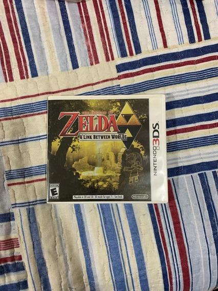 Jogo Legenda Of Zelda - A Link Between Worlds - Nintendo 3ds