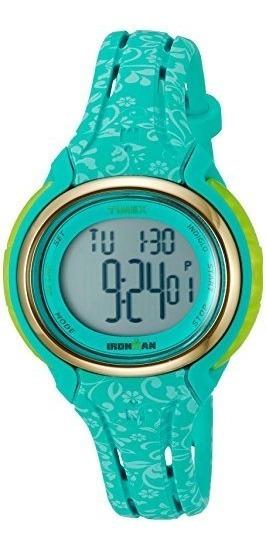 Relojes Deportivos,tw5m03100 Timex Ironman Sleek Mujeres..
