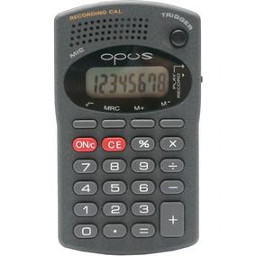 Calculadora De Bolso Escolar Com Gravador De Mensagens B607