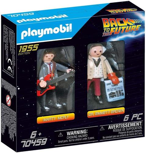 Imagen 1 de 5 de Playmobil Volver Al Futuro 70459 Mcfly Y Dr - Back To Future