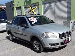 Fiat Strada Working 1.4 Cab Dupla Completa 2012 $35990