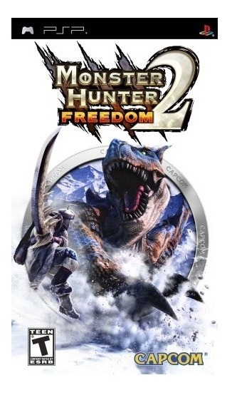 Monster Hunter Freedom 2 Psp Mídia Física Lacrado