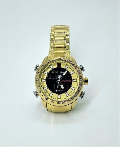 Relógio Original Naviforce Executivo Masculino Promoção