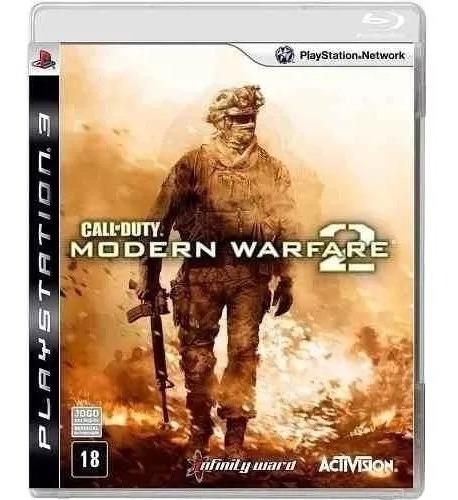 Cod Modern Warfare 2 - Midia Fisica Original E Lacrado - Ps3