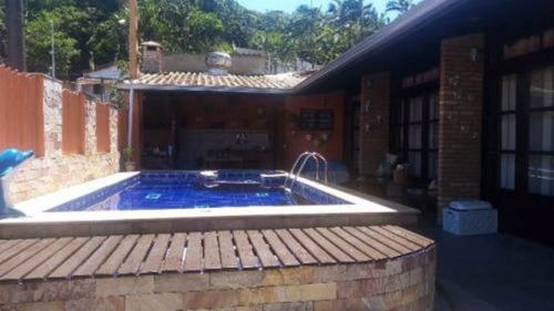 Casa Na Praia Dos Sonhos Com Piscina  Itanhaém - 7466