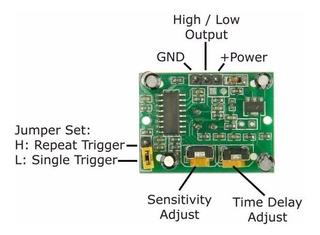 Sensor Pir Hc-sr501 Con Envío Gratis