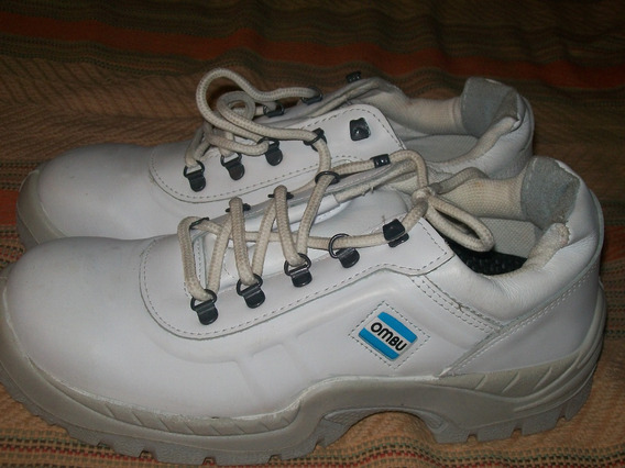 Zapatos De Trabajo Ombu Con Punta De Acero Talle 44