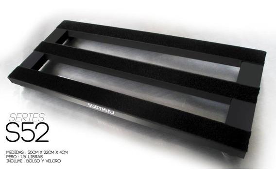 Pedalboard Pedaltrain Aluminio Pedal Guitarra Sudh 50x22cm