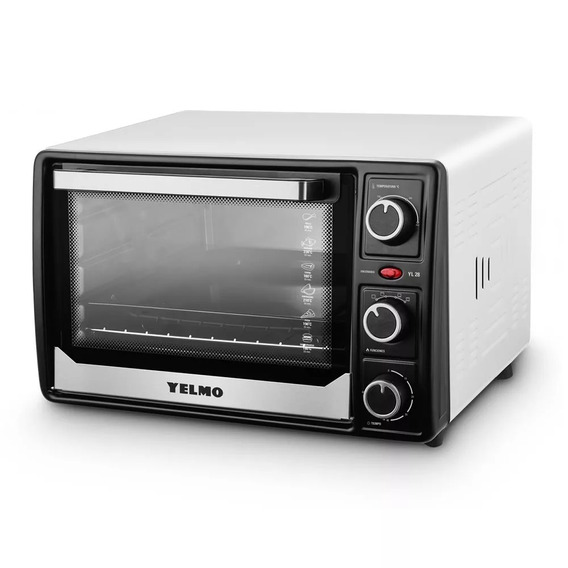 Horno Electrico Yelmo Yl-28 28 Lts 1500w Timer Cuotas