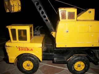 Tonka Grúa De Construcción Comprada En Los 70