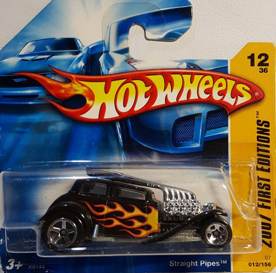 Hot Wheels 1/64 2007: Straight Pipes First 012/156 Novo (a)