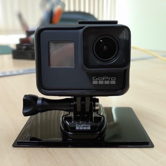 Camera Gopro Hero 7 Black, Seminova! +bateria+cartão Memória