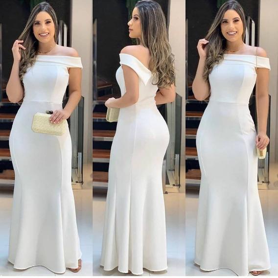 Modelo Vestido Longo De Madrinha Casamento Longos Feminino