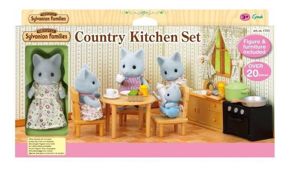 Sylvanian Families Country Kitchen Cocina De Campo 5164