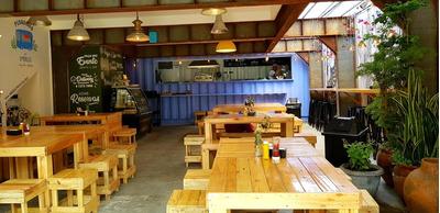 Restaurante Com Container Charmoso Ba Chacara Santo Antonio