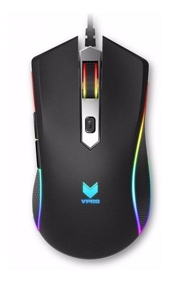 Mouse Gamer Rgb Rapoo V29s Vpro 7000dpi 7 Modos De Luz