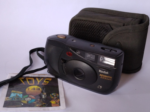 Câmera Fotográfica Kodak Advantix 2000 Auto - Analógica Leia