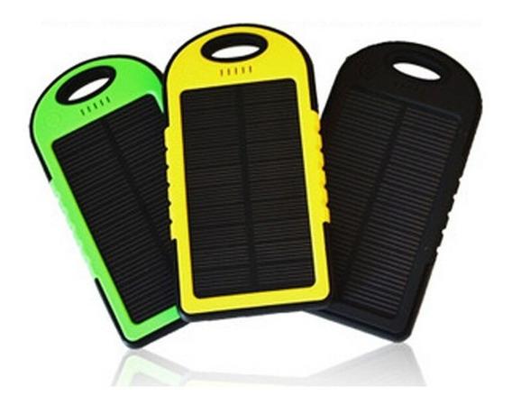 Cargador Solar Power Bank 12000 Mah Bateria Lampara Led