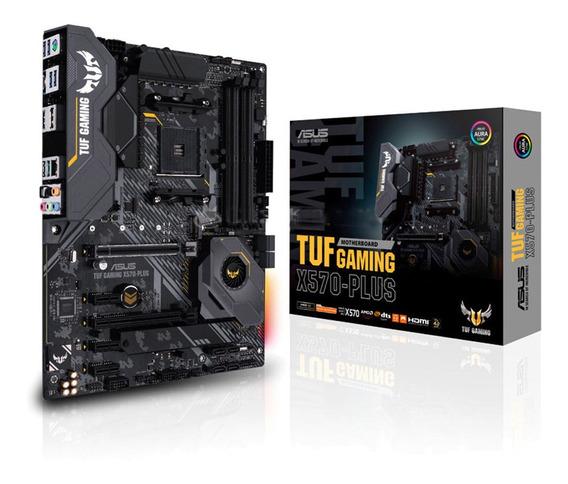 Mother Asus X570 Plus Tuf Gaming Am4 Ryzen Gamer