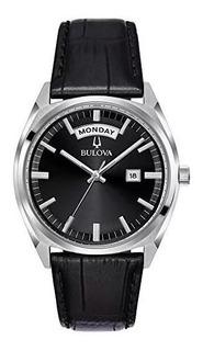 Reloj Bulova 96c128 Clasico De Hombre - Quartz - Nuevo!!!