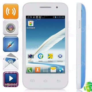 Mini 7100 Android 2.3.5 Gsm Bar Phone W / 3,5 Tela