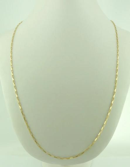 Cordão Corrente Cartier Em Ouro 18k 750 60 Cm