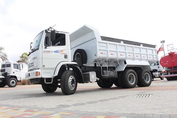 Caminhão Mb 2423 6x4 2007 Caçamba = Ford Cargo Mercedes