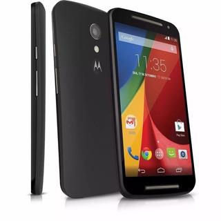Celular Com Zap Motorola Moto G2 Usado +pelicula De Vidro E Capa De Proteção