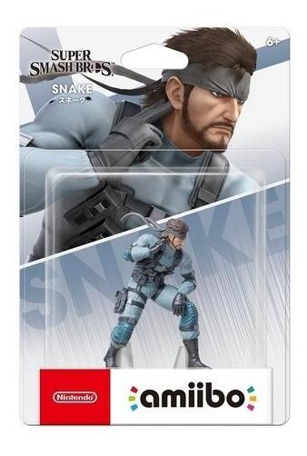 Amiibo Snake Super Smash Bros Ultimate
