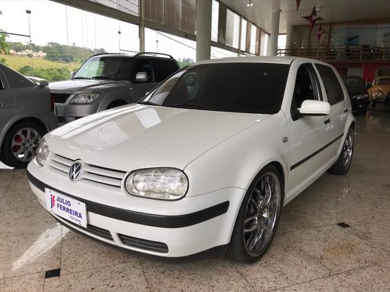 Volkswagen Golf 1.6 Plus Gasolina Branco 2004