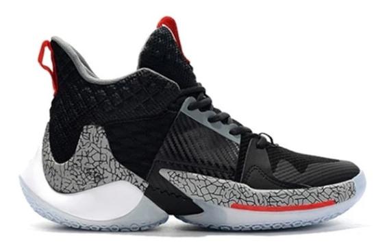 Zapatillas Basket Jordan Why Not Zero.2 Cement Oferta 30%off