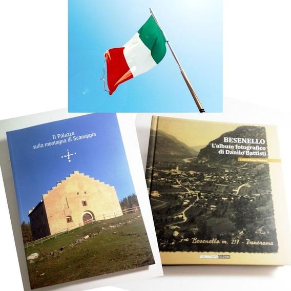 Kit 2 Livros (em Italiano) De Trento - Itália (frete Grátis)