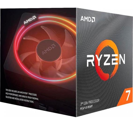 Procesador Amd Ryzen 7 3700x 4.4ghz Am4 Wraithprism