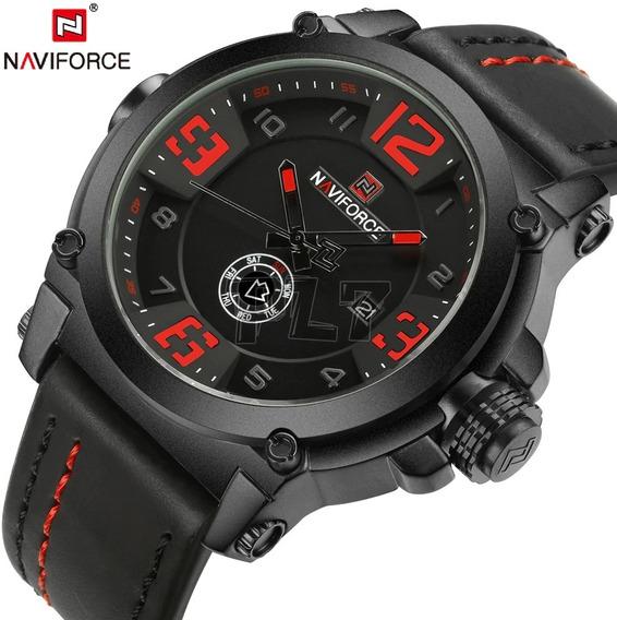 Relógio Masculino Esportivo Naviforce Mod 9099 Importado