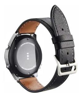 Pulso En Cuero Para Samsung Gear Sport, S3 Frontier / 20mm