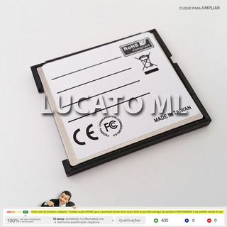 Adaptador Sd Wifi P/ Compact Flash 1 +frete Grátis | 3rd Sj